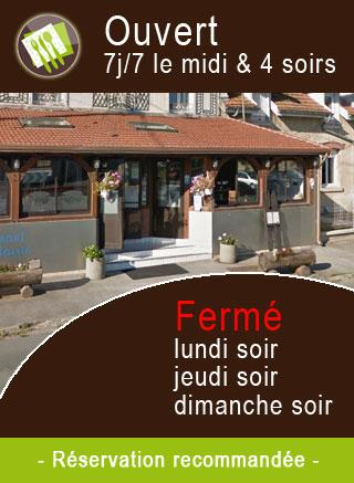 Horaires Restaurant de la Mairie